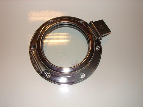 Rrc hublots ronds inox pour aeration ventilation chambre for Hublot ouvrant encastrable