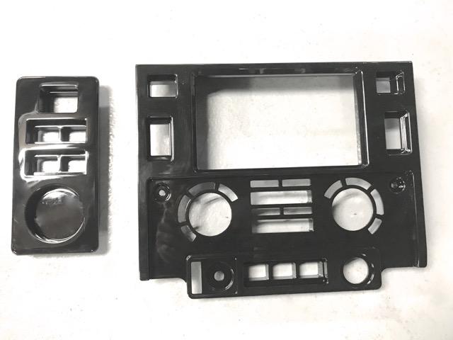 rr concept console pour autoradio double din pour defender td4 la. Black Bedroom Furniture Sets. Home Design Ideas