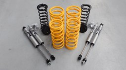 Kit suspensions Fox Raid Performance Defender 110 AV + 4
