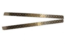 Protections bas de caisse en aluminium pour Defender 130 (2mm)