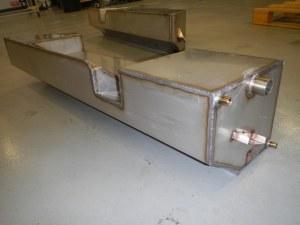 Réservoir lateral gauche acier inox 52 l Defender 110, pour Gasoil