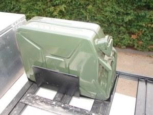 Jerrican 20 litres acier