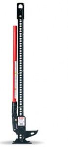 Cric Hi-Lift - Noir - Manche rouge - 48 pouces