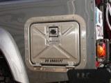 Coffre exterieur Defender 110 TD5 et anterieur