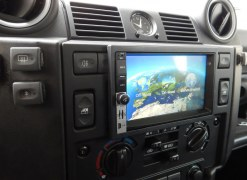 GPS  4X4 double din Globe Evasion