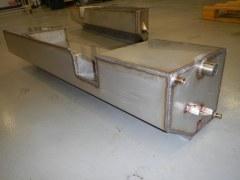 Réservoir latéral gauche acier inox 60 l Defender 130, pour Gasoil