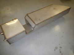 Réservoir latéral droit acier inox 72 l defender 130, pour Gazoil