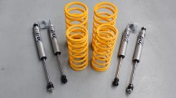 Kit suspensions Fox Raid Performance Def 90 - Disco 1 - Range Classic