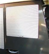 Meuble haut fermeture à rideau RRC avec accès porte AR