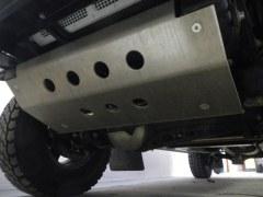 Ski sabot de protection alu 8 mm Defender