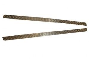 Protections latérales en aluminium pour Defender 110 (2mm)