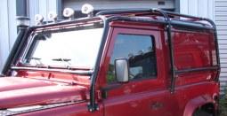 Protections rrc 4x4 land rover defender la boutique rr concept for Arceau exterieur 4x4
