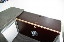 Système couchage bas avec coffre intérieur pour cellule RRcab