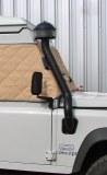 Snorkel aluminium Defender, avec filtre cyclonique