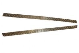 Protections latérales en aluminium pour Defender 110 (3mm)