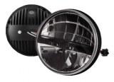 Feu avant code phare LED Defender norme EU - 7 pouces