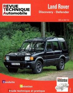 Revue technique Defender 200 300 tdi et Discovery
