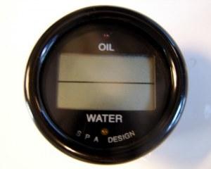 Manomètre combiné température eau et huile