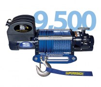 Treuil Superwinch talon 9,5 SR corde synthétique - 12V - 4300 Kg