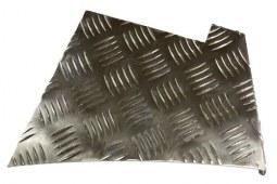 Protections d'ailes arrière en aluminium pour Defender 90 (2mm)