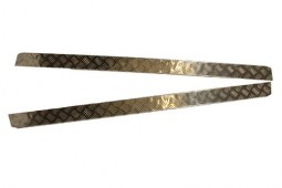 Protections bas de caisse en aluminium pour Defender 90 (2mm)