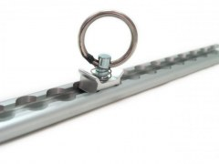 Rail Aero alu rectangulaire - fin - 2m
