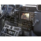 Console pour autoradio double din pour Defender TD4 - haute qualité