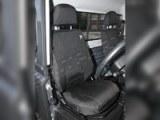 Paire de housses étanches pour sièges avant noires - Defender Td4