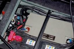 Électricité 12v batterie auxiliaire