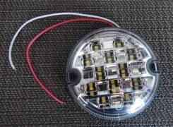 Feu de recul Defender rond LED blanc