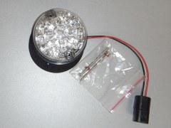 Feu led clignotant cristal AV ou AR Defender