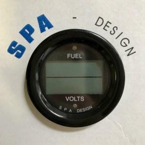 Manomètre combiné niveau de carburant et volts