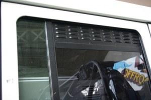 Grilles aération fenêtres arrière Defender
