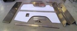 Kit de tôlerie en aluminium pour la transformation d'un Defender 130 Crew cab en 130 Station Wagon (SW)