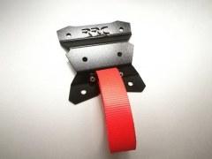 Plaque de renfort RRC pour tirants arrière + sangle de traction FIA