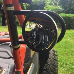 Kit rétroviseur + support pour can-am maverick x3