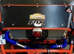 Tôle arrière de toit (sur radiateur) pour can-am X3
