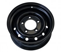 Jante HD acier renforcée (Wolf) 6,5x16 black