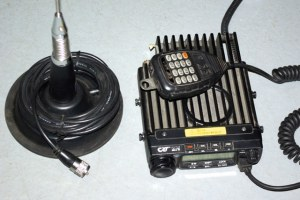Kit poste VHF + antenne magnetique
