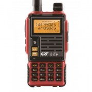 Poste radio VHF portable CRT 1FP rouge