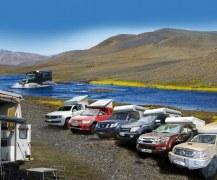 Cellule RRCab de camping voyage amovible pour tous pick-up 4x4