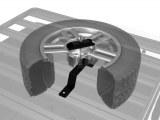 Support roue de secours haut pour galerie Front Runner