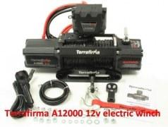 Treuil Terrafirma A1200 - 5T4 - corde plasma - écubier alu - commande sans fil - 12v